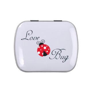 Red Love Bug - Ladybug Candy Tin