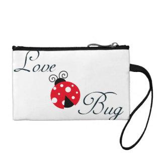 Red Love Bug - Ladybug Change Purse