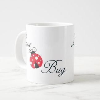 Red Love Bug - Ladybug Jumbo Mugs