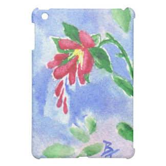 Red Love Flower aceo IPad Case