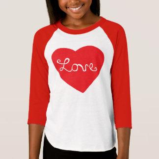 Red Love Heart T-Shirt