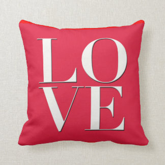 Red Love Pillow