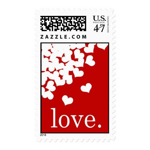 red love. - Stamp