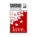 red love. - Stamp stamp