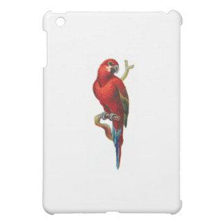 Red Macaw Bird iPad Mini Cover