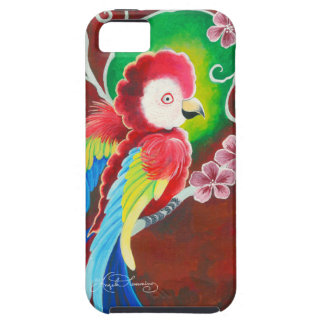 Red Macaw iPhone SE/5/5s Case