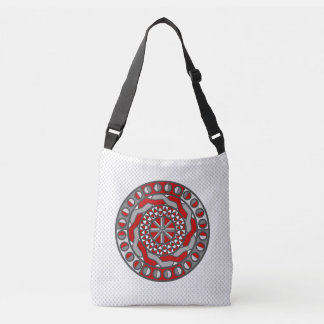 Red Machinery All-Over-Print Bag