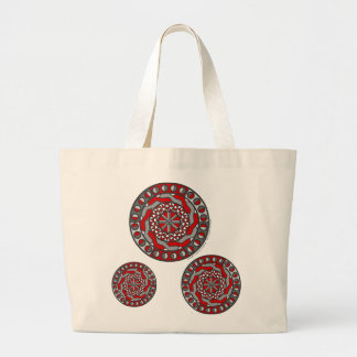 Red Machinery Light Tote Bag