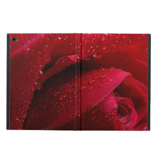 Red Macro Rose with Water Droplets Powis iPad Air 2 Case