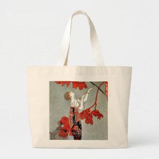 Red Madame Art Deco Design Bag