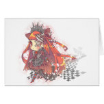 Red Maid Card