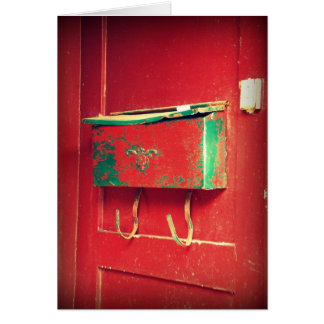 Red Mailbox Card