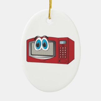 Red Male Microwave Cartoon Christmas Tree Ornaments