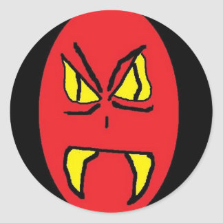 RED MAN 2 (2) STICKERS