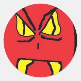 RED MAN 2 (2) STICKER
