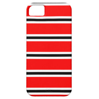 Red Manchester football bar scarf iPhone SE/5/5s Case