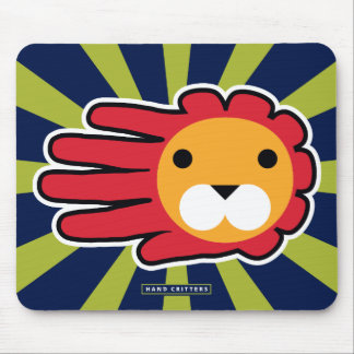 Red Maned Lion Mouse Pad
