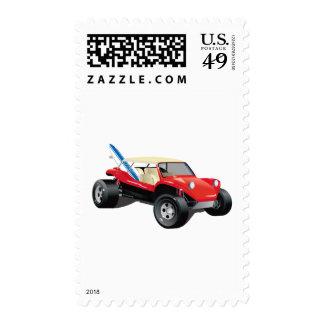 Red Manxter Stamp