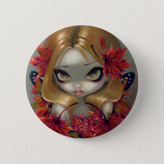 """""""Red Maple Fairy"""" Button"""