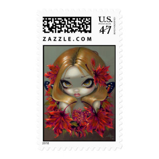 """Red Maple Fairy"" Stamp"