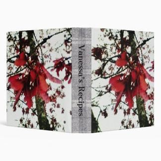 Red Maple Keys Botanical Med. Recipe Cook Book Binder