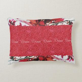 Red Maple Keys Botanical Natural Decorative Pillow