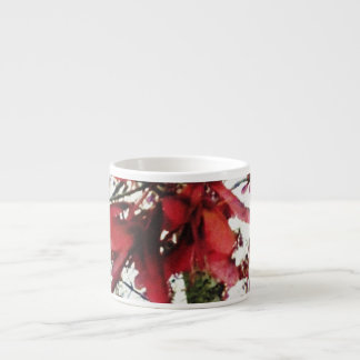 Red Maple Keys Botanical Natural Espresso Cup