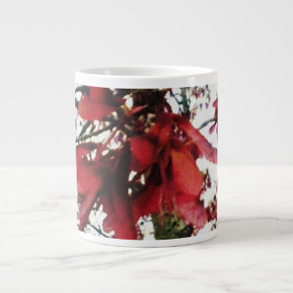 Red Maple Keys Botanical Natural Large Coffee Mug