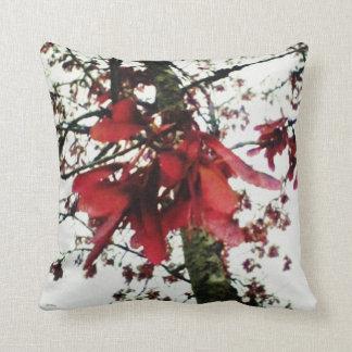 Red Maple Keys Botanical Natural Pillow