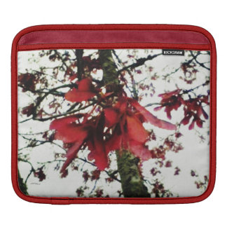 Red Maple Keys Botanical Natural Sleeve For iPads