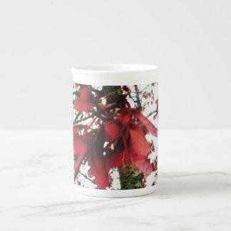 Red Maple Keys Botanical Natural Tea Cup