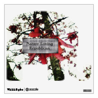 Red Maple Keys Nature Loving Republican Wall Decal