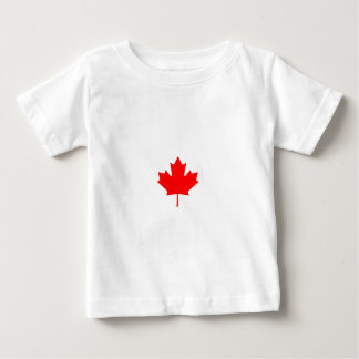 Red Maple Leaf Baby T-Shirt
