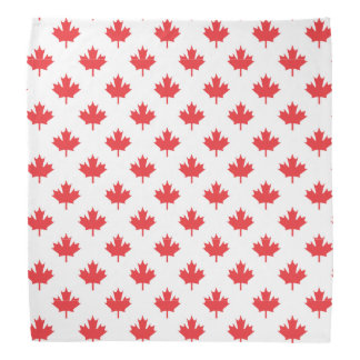 Red Maple Leaf Bandana