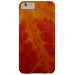 Red Maple Leaf Barely There iPhone 6 Plus Case