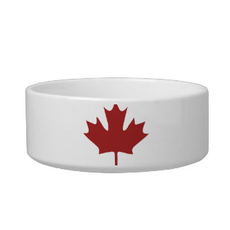 Red Maple Leaf Bowl