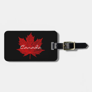 Red Maple Leaf-Canada Bag Tag