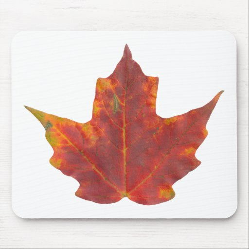 Red Maple Leaf Mouse Pad
