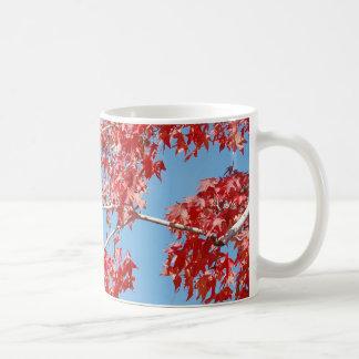 Red Maple Leaf Mug