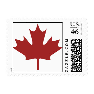 Red Maple Leaf Stamps