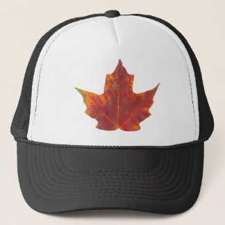 Red Maple Leaf Trucker Hat