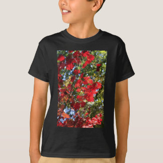 Red Maple Leaves in the Fall T-Shirt