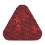 Red maple leaves pattern speaker