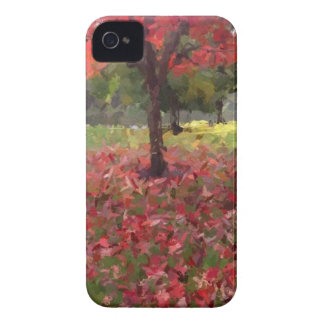 Red Maple Tree Photography iPhone 4 Cover