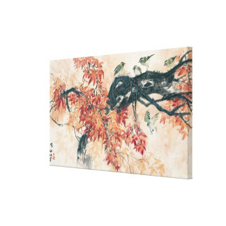 Red Maples Canvas Print
