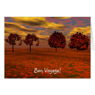 Red Maples Card