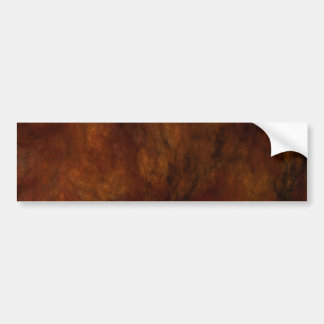 Red Mar Abstract Fractal Background Bumper Sticker