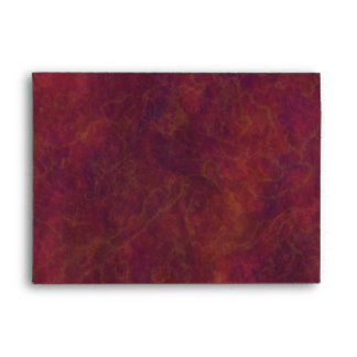 Red Marble Envelope