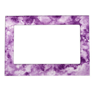 Red Marble Magnetic Frame