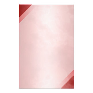 "Red Marble Stationary 5.5"" x 8.5"" Stationery"